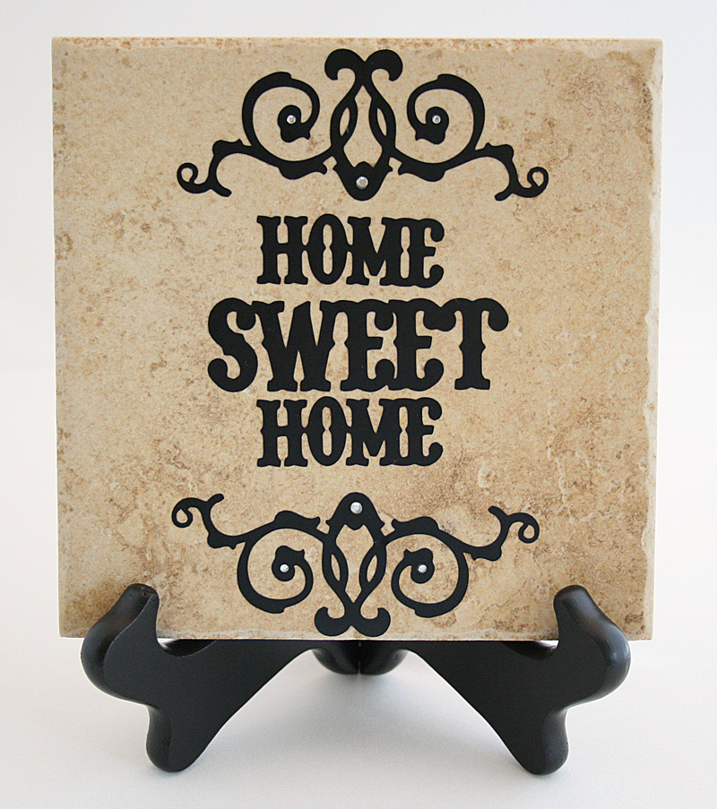 Home Sweet Home Tile Sign Mixology Crafts