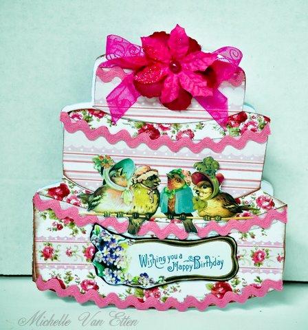 Happy Birthday Cake Card Mixology Crafts