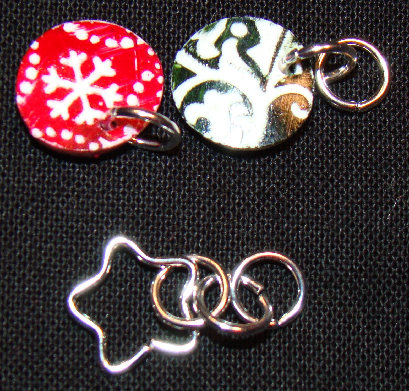 Sparkle, Bling and Jingle Wire Wrapped Ring! Excellent gift idea ...