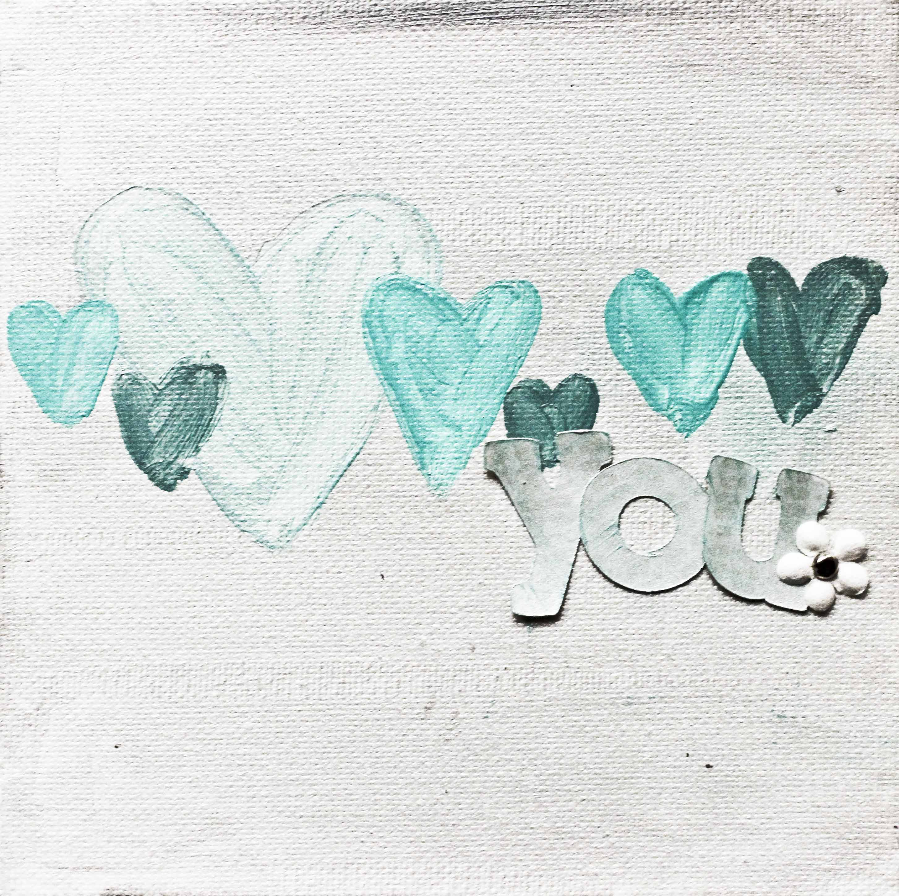 Love You Canvas Mixology Crafts