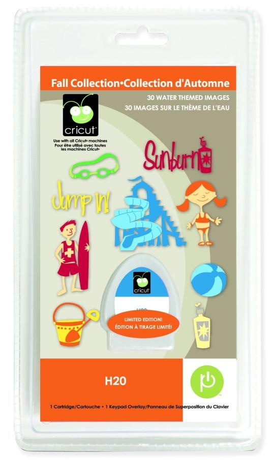 H20 Seasonal Cricut Cartridge Giveaway! | Mixology Crafts