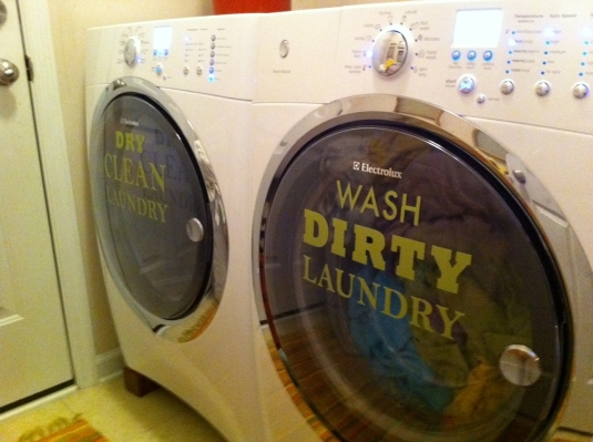 Add A Little Life To Your Washer And Dryer With Word