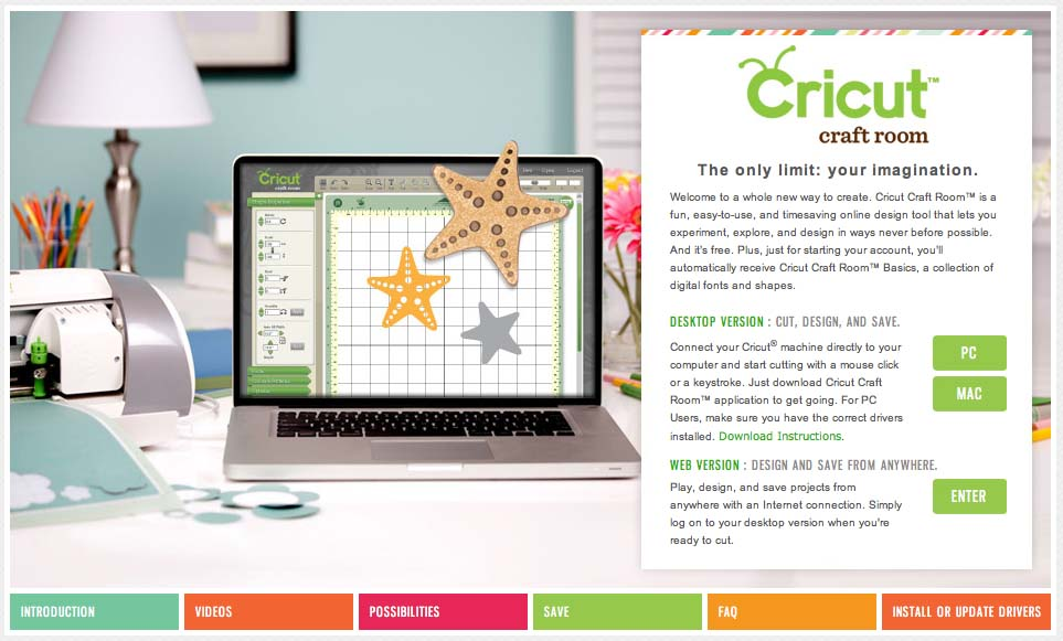 How To Start A New Project In Cricut Craft Room